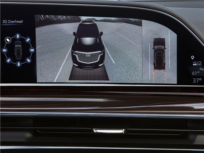 Cadillac Escalade 2021 монитор