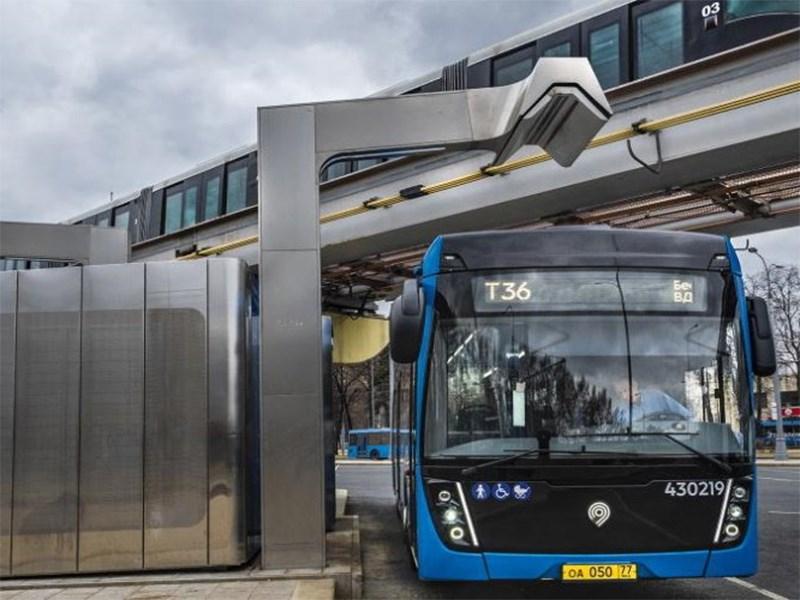 В России построят сеть бесконтактных зарядных станций для электромобилей и электробусов