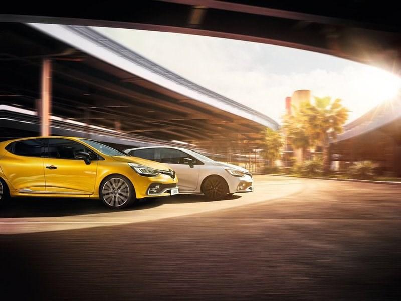 Renault представила обновленный хэтчбек Clio RS