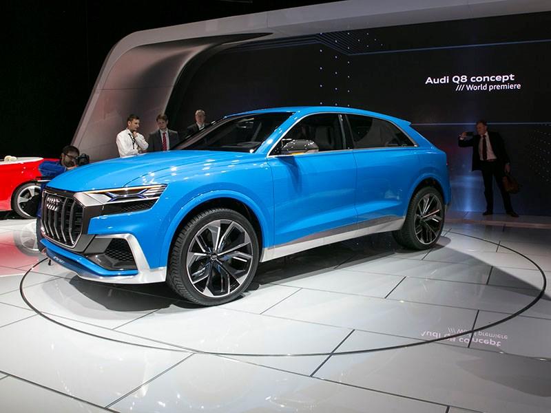 Audi отказалась от участия в Детройтском автосалоне
