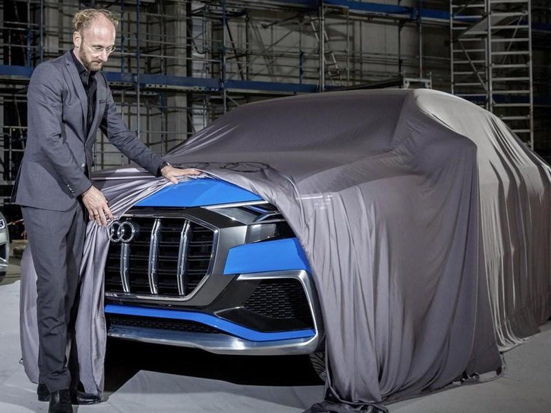 Audi привезет в Детройт предвестника кросскупе Q8