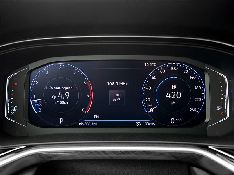 Volkswagen Polo Sedan 2020 приборная панель