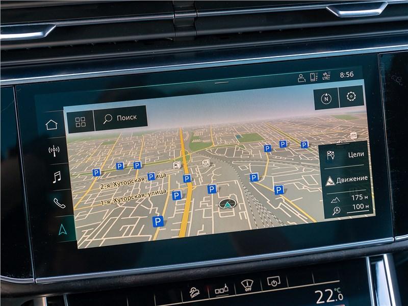 Audi Q7 2020 монитор
