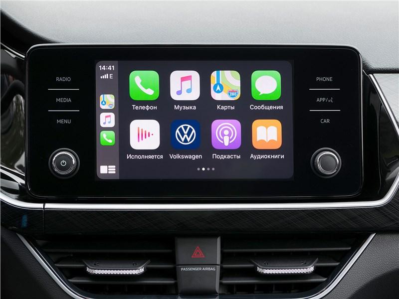 Volkswagen Polo Sedan 2020 монитор
