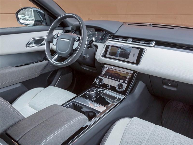 Range Rover Velar 2017 салон