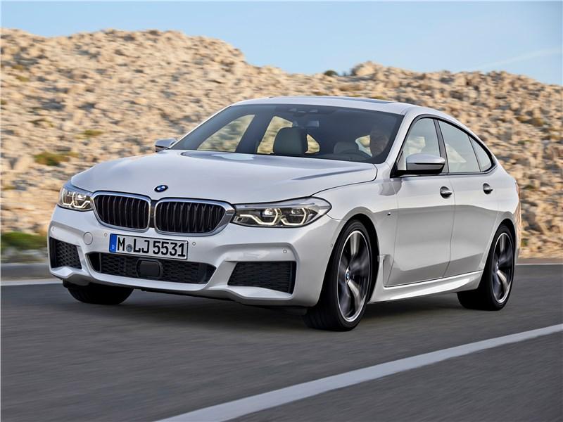 BMW 6-Series Gran Turismo 2018 GT вид спереди