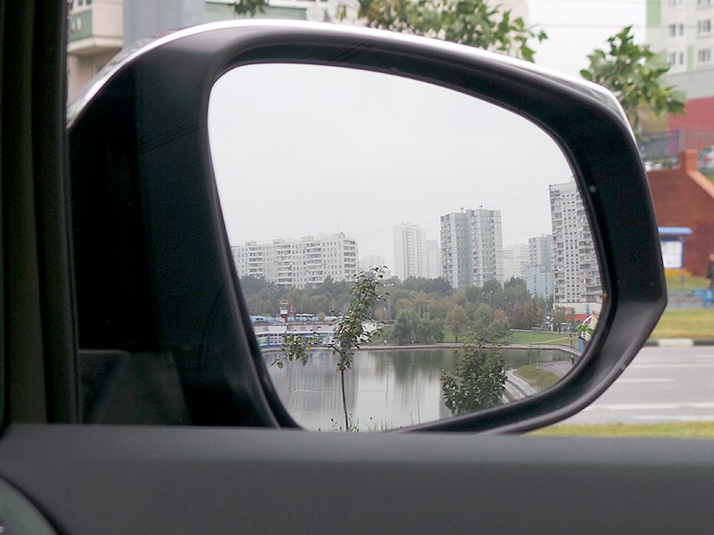Toyota Alphard 2015 боковое зеркало