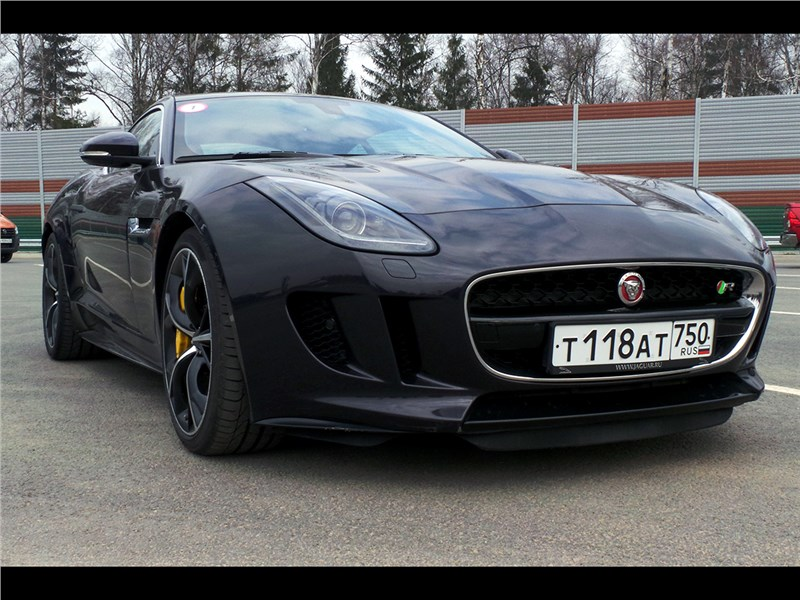 ТОП-5 АВТО 2016 Jaguar F-Type R