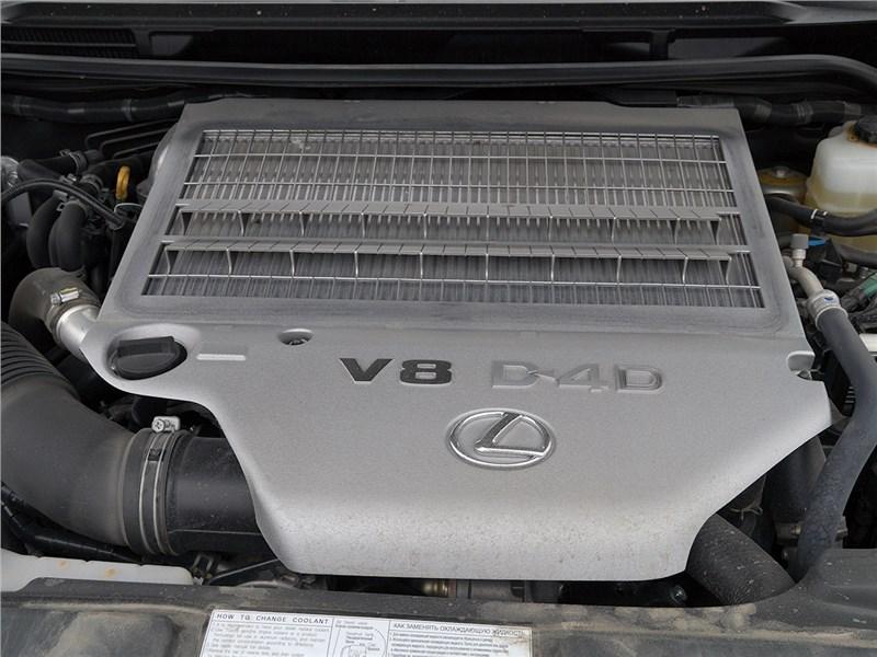 Lexus LX 2016 двигатель