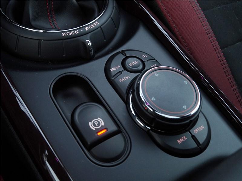 Mini Clubman Cooper S 2016 джойстик управления мультимедиасистемой