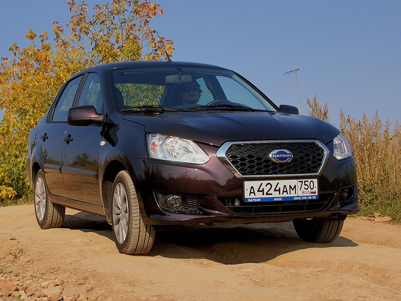 "Datsun on-DO 2014 ""по ухабам"""