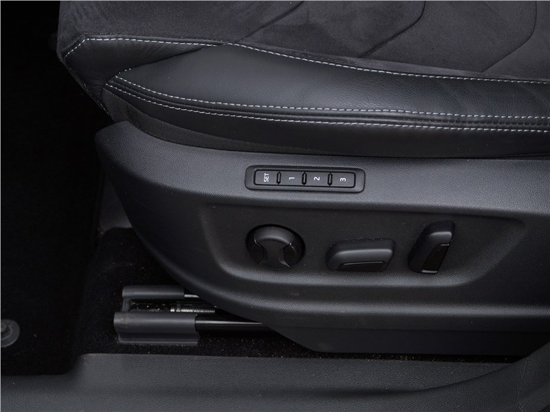 Skoda Kodiaq 2017 водительское кресло