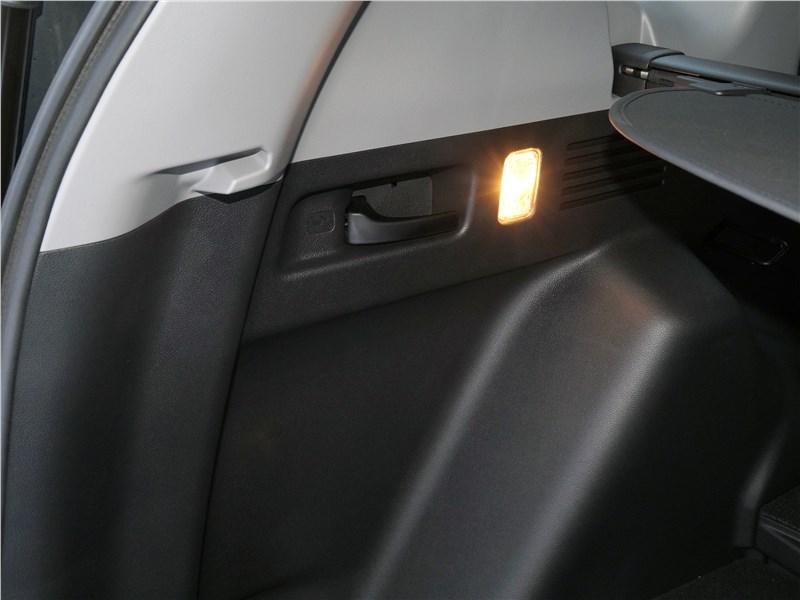 Honda CR-V 2017 багажное отделение