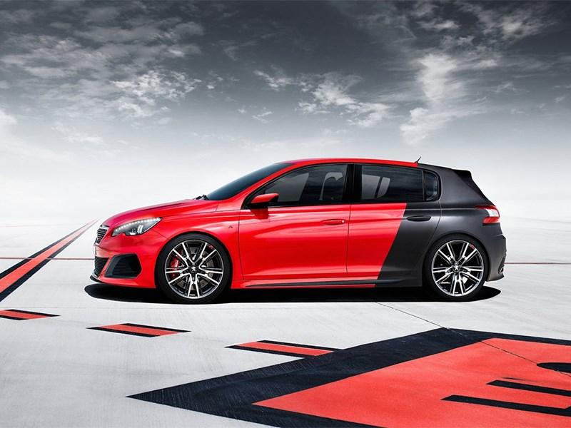Peugeot 308 R концепт 2013 вид сбоку