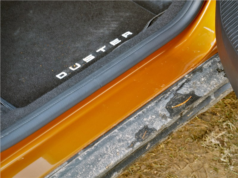Renault Duster (2021) коврик