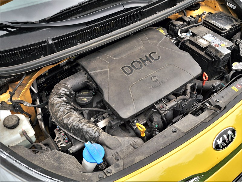 Kia Picanto (2021) моторный отсек
