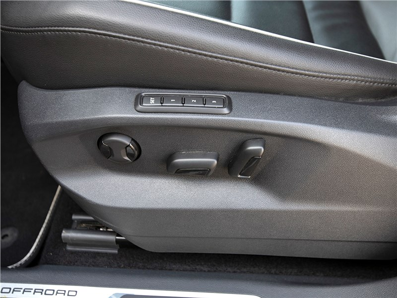 Volkswagen Tiguan (2018) переднее кресло