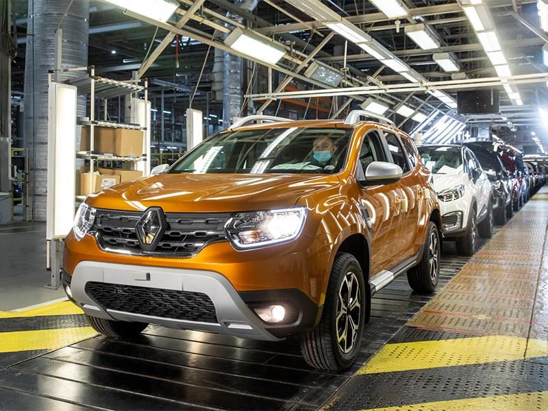В России запущено производство Renault Duster