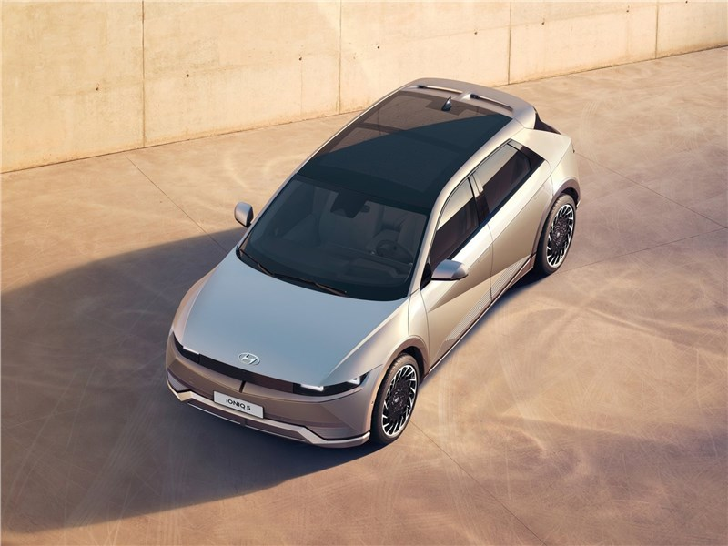 Hyundai Ioniq 5 (2022) вид сверху