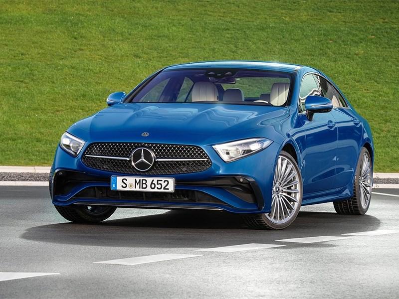 Mercedes представил новый CLS