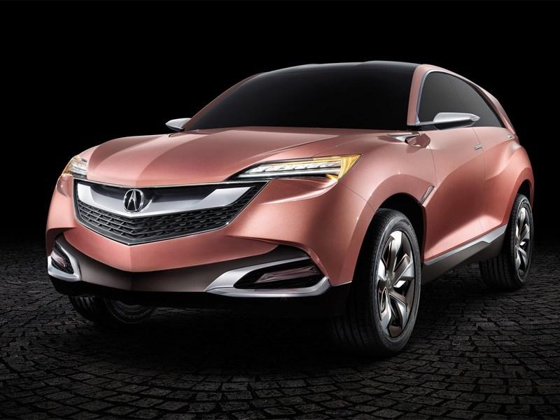 Acura создает компактный кроссовер на основе концепткара Acura SUV-X