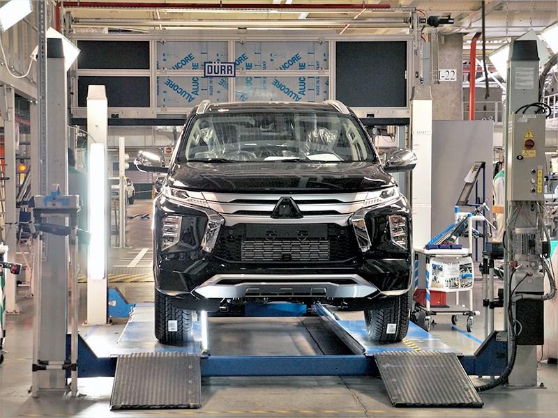 На конвейер завода в Калуге встал обновленный Mitsubishi Pajero Sport