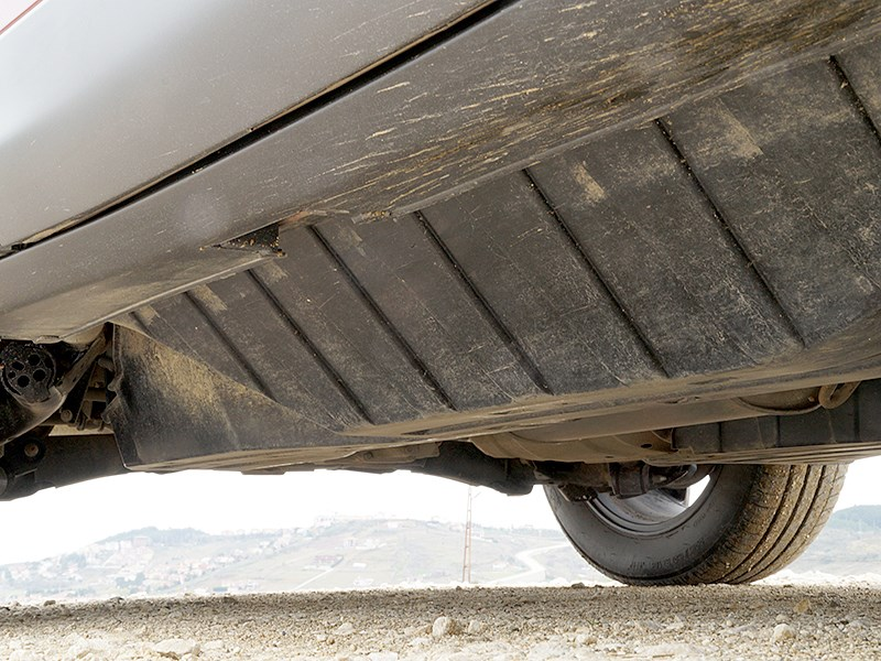 Honda CR-V 2015 защитные «короба» на днище