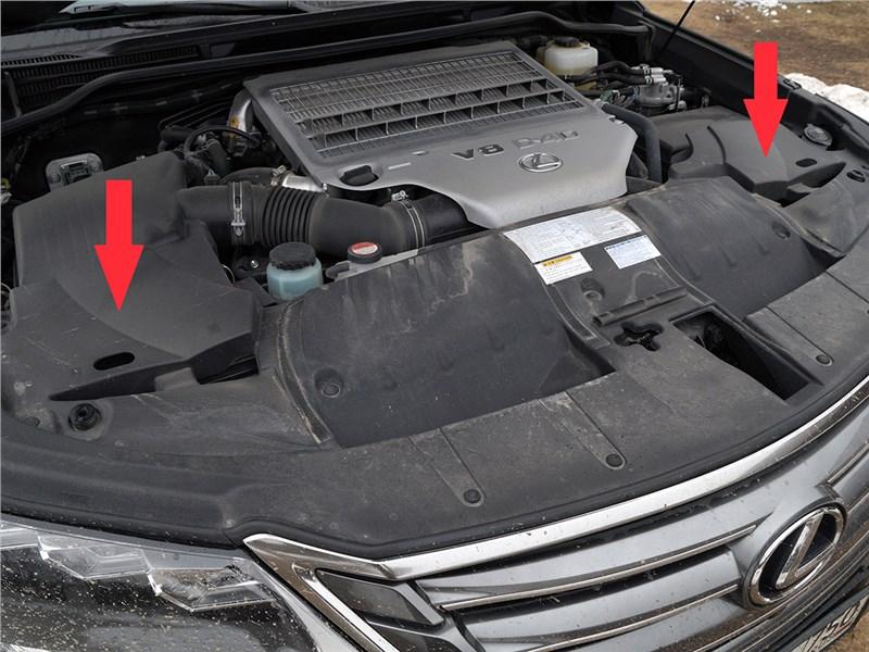 Lexus LX 2016 аккумуляторы