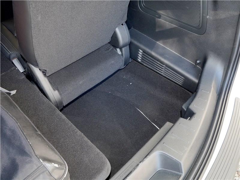 Ford Explorer 2018 багажное отделение