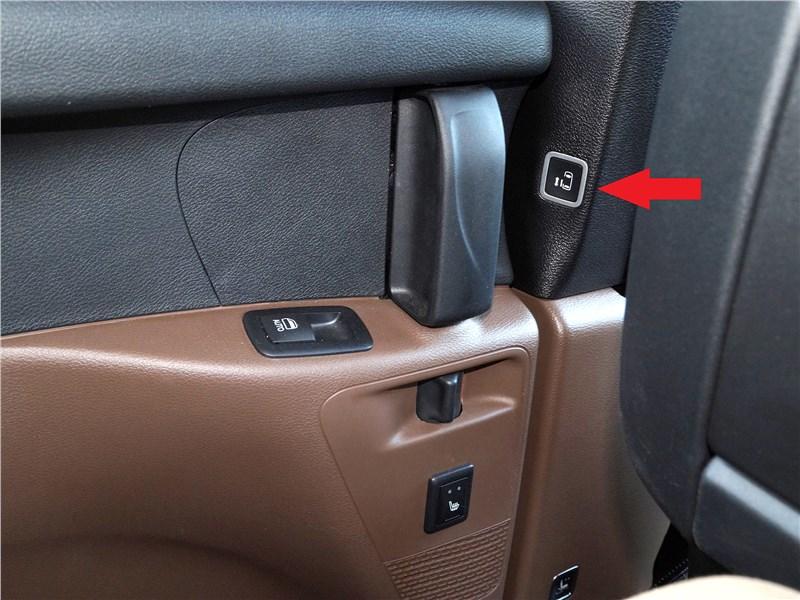 Chrysler Pacifica 2017 дверь