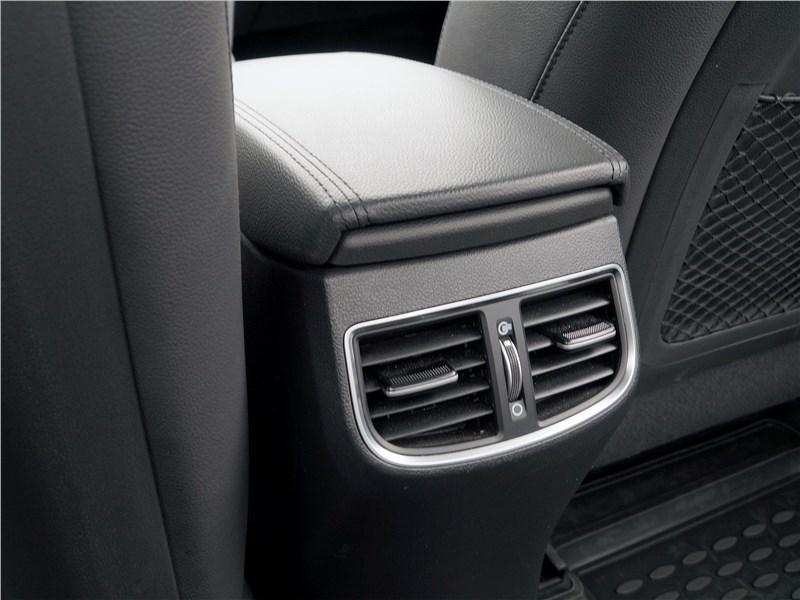 Hyundai Elantra 2019 дефлекторы системы отопления и вентиляции