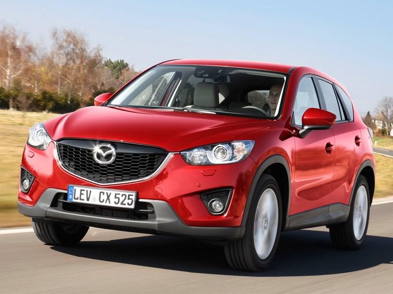 Mazda привезла в Россию дизельный кроссовер СХ-5