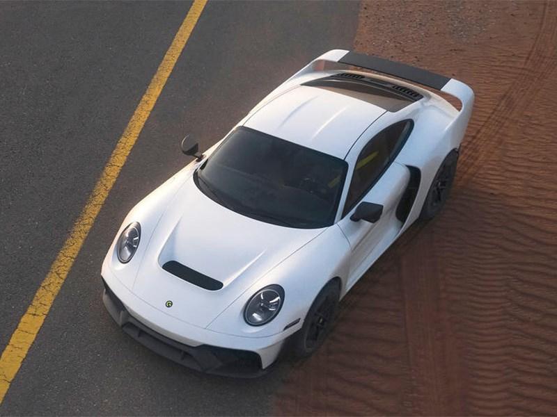 Представлен Porsche - покоритель бездорожья