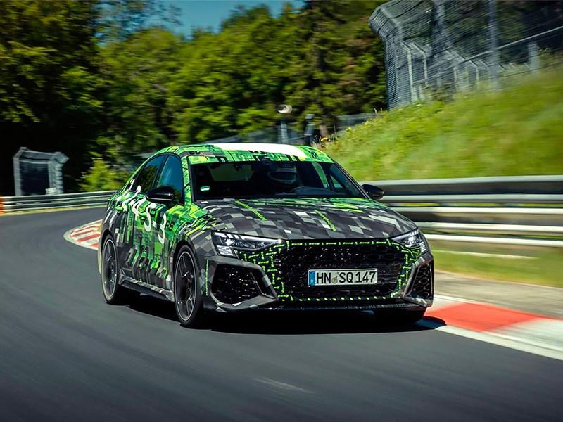 Audi RS3 установил рекорд Нюрбургринга