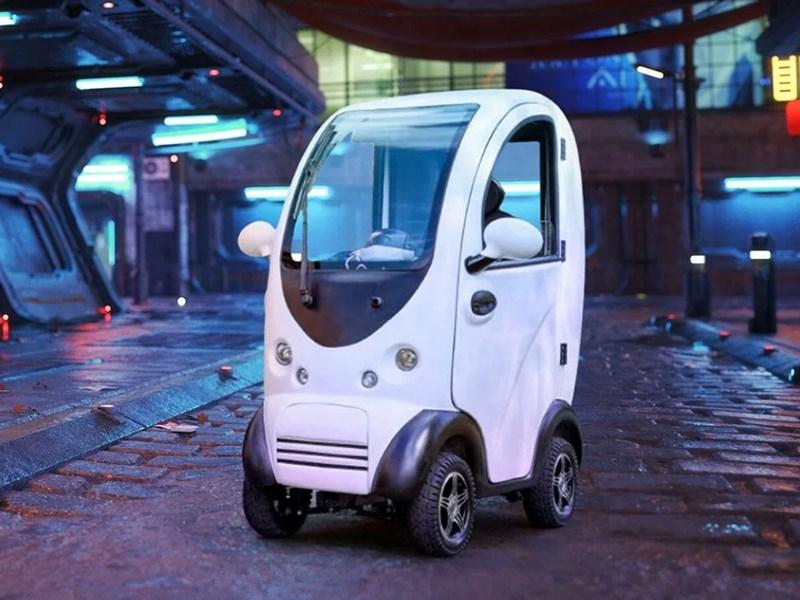 В Китае обнаружился самый маленький электромобиль