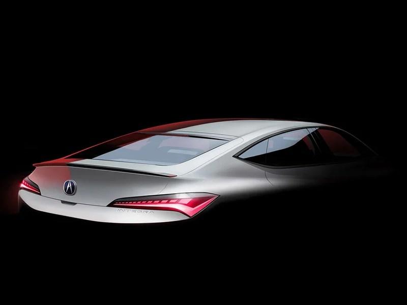 Acura показала изображение новой Integra