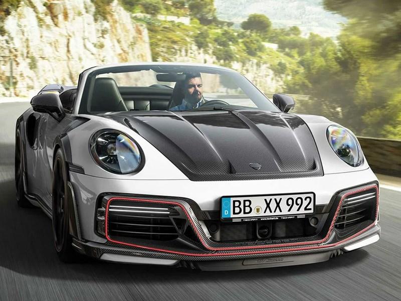 Немецкие тюнеры «зарядили» Porsche 911