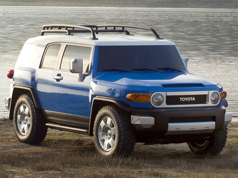 Модель Toyota FJ Cruiser прекратит свое существование в будущем году