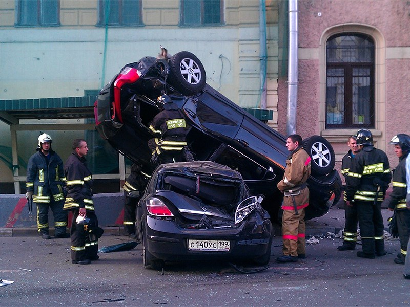Москвичи попадают в ДТП чаще всех