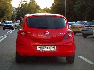 В сети появится сайт с фотографиями машин со скрытыми номерными знаками
