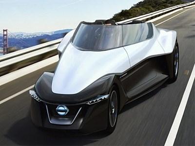 На автосалоне в Токио Nissan показал футуристический концепт-кар
