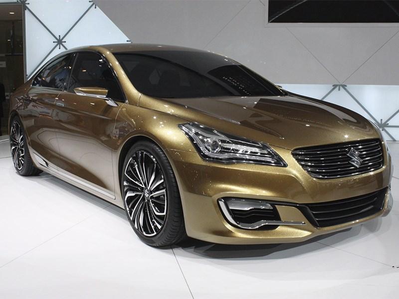 Серийный седан Suzuki Authentics будет выпускаться и продаваться в Китае