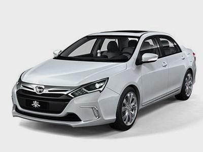 На китайский рынок вышел новый гибридный седан от компании BYD