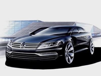 Volkswagen Phaeton получит алюминиевый корпус