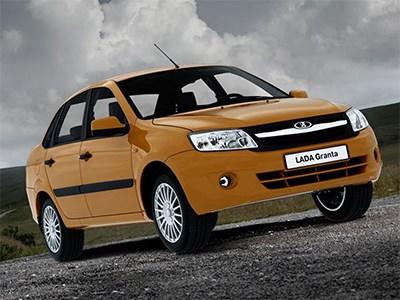 Lada Granta остается самым востребованным автомобилем на российском рынке