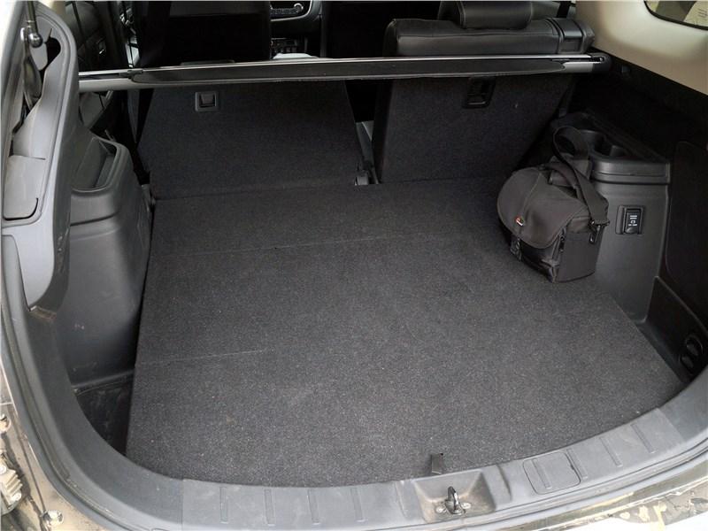 Mitsubishi Outlander 2016 багажное отделение
