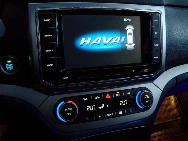 Haval H6 Coupe 2017 центральная консоль
