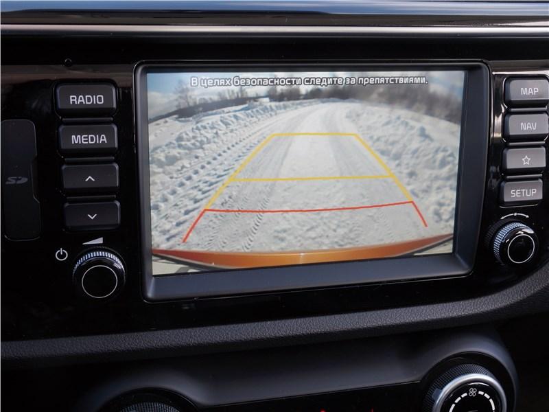 Kia Rio X-Line 2017 мультимедиасистема