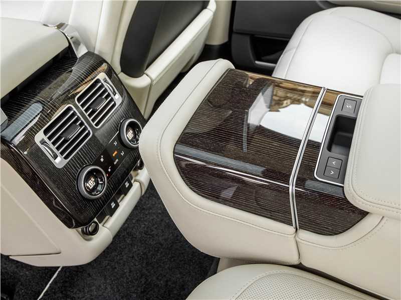 Land Rover Range Rover PHEV 2018 климатическая установка