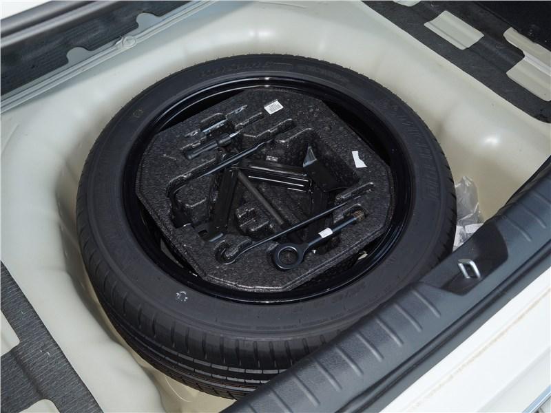 KIA Optima 2019 запасное колесо